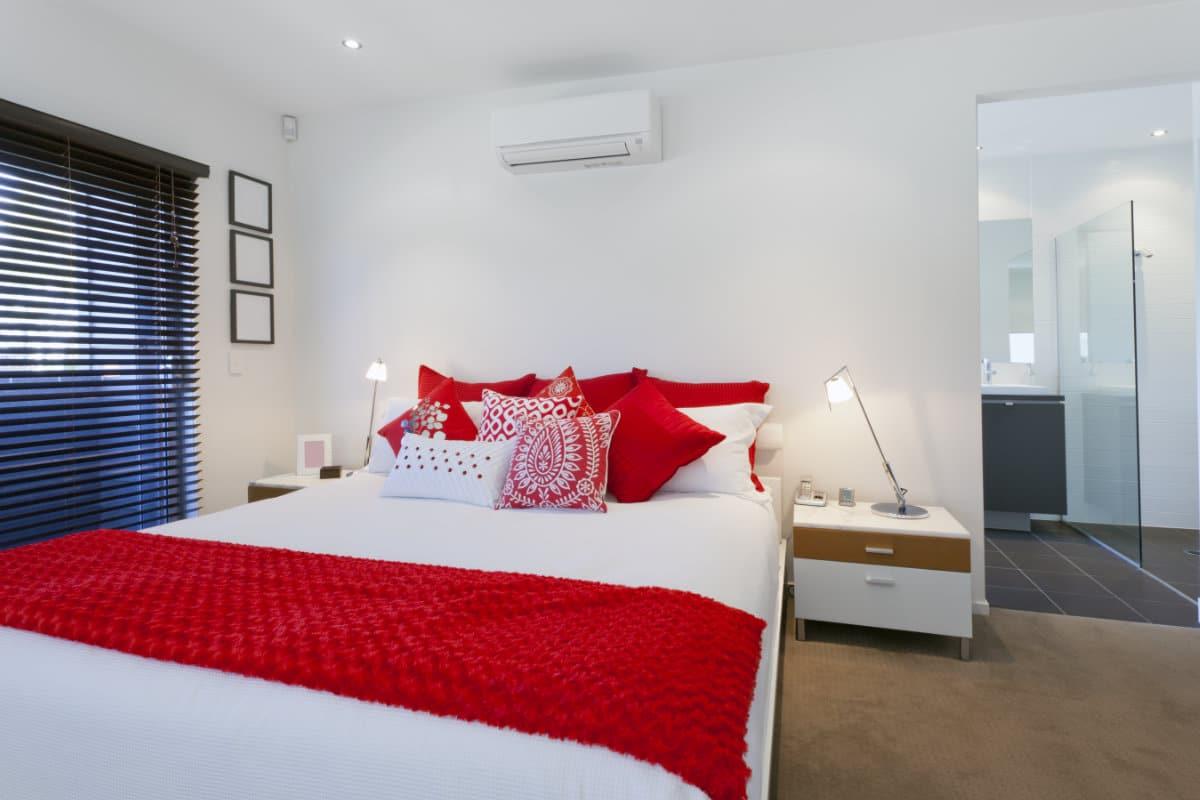 vaste airco slaapkamer