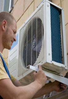 verwarmen met airco buitenunit